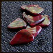 Stone Tones Bloody Basin Jasper Guitar Picks | Timber Tones